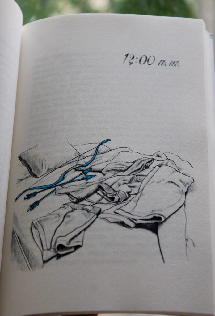 12:00 AM Buscando el lado frío de la almohada, ilustración. Libros Prohibidos