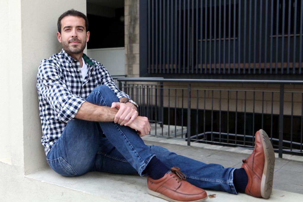 José Pedro García Parejo, ganador del Premio Guillermo de Baskerville de relatos 2016. Libros prohibidos