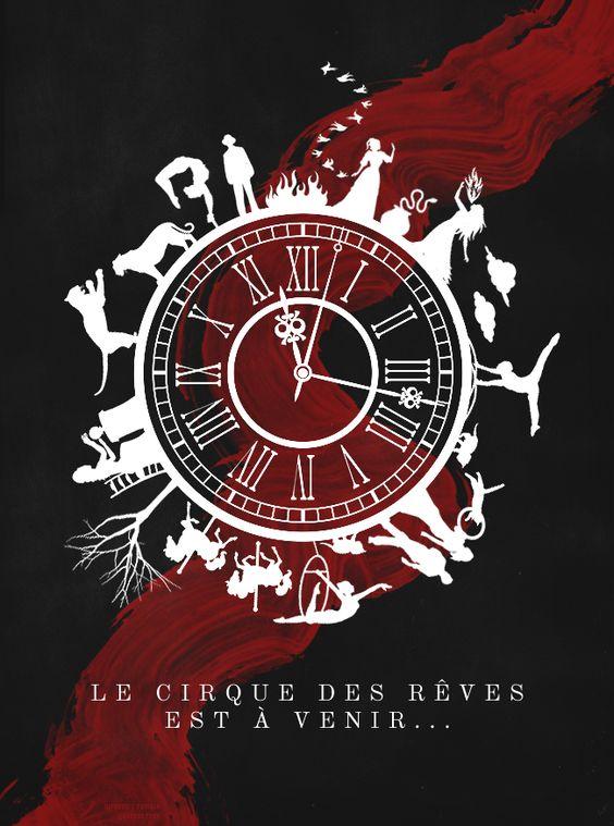 El circo de la noche. Portada en francés. Libros Prohibidos