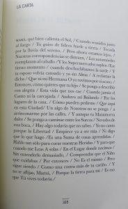 «La Carta» de Ángel Leiva. Del amor y la tierra. Libros Prohibidos
