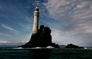 Great Blasket Island. Faro. Libros Prohibidos