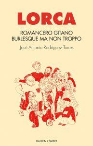 Romancero gitano burlesque, portada. Libros Prohibidos