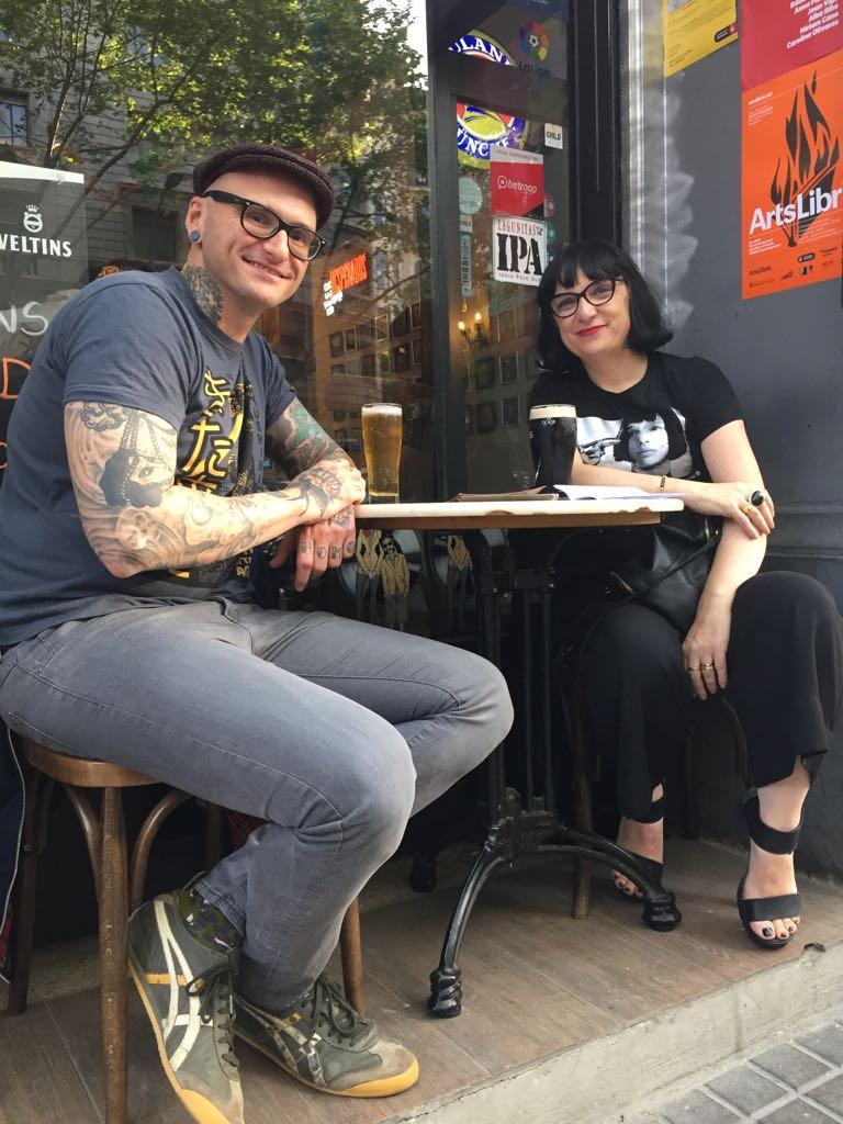 Entrevista a Guillem López. Con Alicia Sánchez. Libros Prohibidos