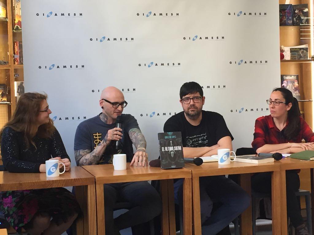 Entrevista a Guillem López. Presentación en Gigamesh. Libros Prohibidos