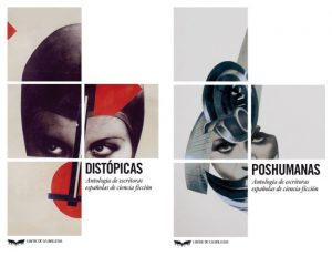 Distopicas y Poshumanas, portada. LibrosProhibidos