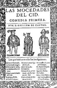 Las mocedades del Cid, de Guillem de Castro