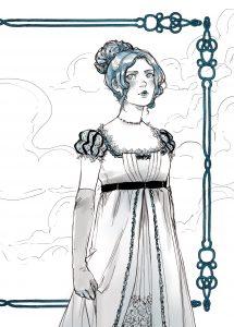 Ellen Fellowes, protagonista de Lionheart
